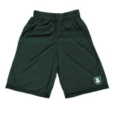 Performance Classic Dark Green 9 Inch Short-Shield