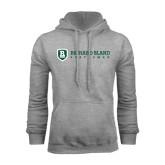 Grey Fleece Hoodie-Richard Bland Statemen Flat