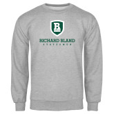 Grey Fleece Crew-Richard Bland Statemen Stacked