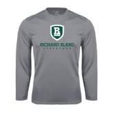 Performance Steel Longsleeve Shirt-Richard Bland Statemen Stacked