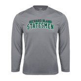 Performance Steel Longsleeve Shirt-Arched Richard Bland Statesmen