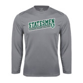 Performance Steel Longsleeve Shirt-Statesmen - Richard Bland College
