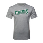 Grey T Shirt-Statesmen - Richard Bland College