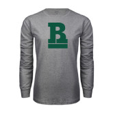 Grey Long Sleeve T Shirt-RB Stacked