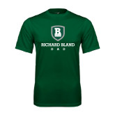 Performance Dark Green Tee-Dad