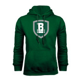 Dark Green Fleece Hood-Shield