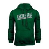Dark Green Fleece Hood-Statesmen - Richard Bland College