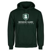 Dark Green Fleece Hood-Cheerleading