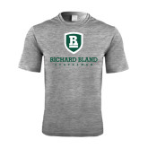 Performance Grey Heather Contender Tee-Richard Bland Statemen Stacked