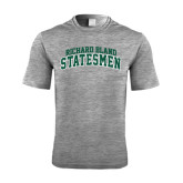 Performance Grey Heather Contender Tee-Arched Richard Bland Statesmen