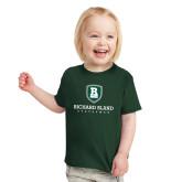 Toddler Dark Green T Shirt-Richard Bland Statemen Stacked