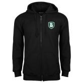 Black Fleece Full Zip Hoodie-Shield