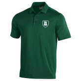 Under Armour Dark Green Performance Polo-Shield