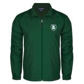 Full Zip Dark Green Wind Jacket-Shield