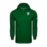 Under Armour Dark Green Performance Sweats Team Hoodie-Shield