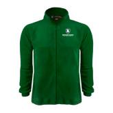 Fleece Full Zip Dark Green Jacket-Richard Bland Statemen Stacked