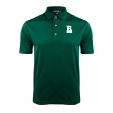 Dark Green Dry Mesh Polo-RB Stacked