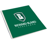College Spiral Notebook w/Clear Coil-Richard Bland Statemen Stacked