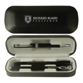 Black Roadster Gift Set-Richard Bland Statemen Flat - Engraved
