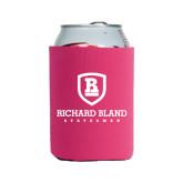 Neoprene Hot Pink Can Holder-Richard Bland Statemen Stacked