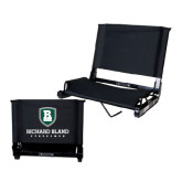 Stadium Chair Black-Richard Bland Statemen Stacked