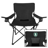 Deluxe Black Captains Chair-Shield