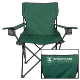 Deluxe Green Captains Chair-Richard Bland Statemen Stacked