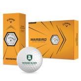 Callaway Warbird Golf Balls 12/pkg-Richard Bland Statemen Stacked