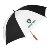 62 Inch Black/White Umbrella-Richard Bland Statemen Stacked