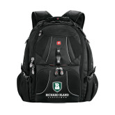 Wenger Swiss Army Mega Black Compu Backpack-Richard Bland Statemen Stacked