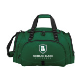 Challenger Team Dark Green Sport Bag-Richard Bland Statemen Stacked