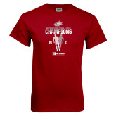 Cardinal T Shirt-2017 HCAC Mens Outdoor Track and Field Champions