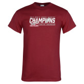 Cardinal T Shirt-2017 Mens Cross Country Champions