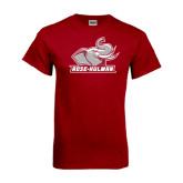 Cardinal T Shirt-Rosie with Rose-Hulman