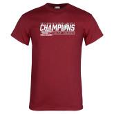 Cardinal T Shirt-2017 Womens Cross Country Champions