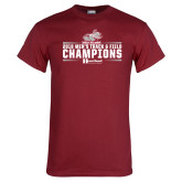 Cardinal T Shirt-Mens Track and Field Champions
