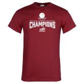 Cardinal T Shirt-Womens Basketball Champions