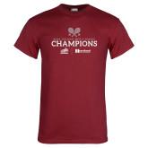 Cardinal T Shirt-Mens Tennis Champions