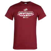 Cardinal T Shirt-Womens Track And Field Champions