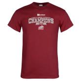 Cardinal T Shirt-2018 Mens Cross Country Champions