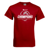 Cardinal T Shirt-Heartland Conference Tournament Champions Womens Tennis 2016