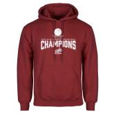 Cardinal Fleece Hoodie-Womens Basketball Champions