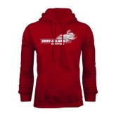Cardinal Fleece Hoodie-Basketball