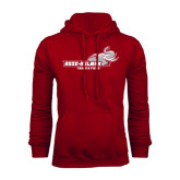 Cardinal Fleece Hoodie-Track & Field