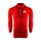 Under Armour Cardinal Tech 1/4 Zip Performance Shirt-Rosie with Rose-Hulman