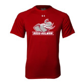 Under Armour Cardinal Tech Tee-Rosie with Rose-Hulman