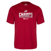 Syntrel Performance Cardinal Tee-2017 HCAC Mens Tennis Champions