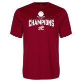 Performance Cardinal Tee-Womens Basketball Champions