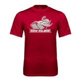 Performance Cardinal Tee-Rosie with Rose-Hulman