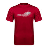 Performance Cardinal Tee-Football